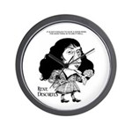 Descartes Wall Clock