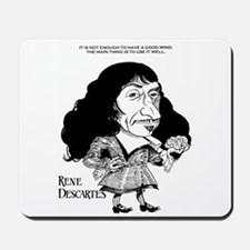 Descartes Mousepad