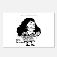 Descartes Postcards (Package of 8)