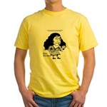 Yellow Descartes T-Shirt