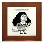 Descartes Framed Tile