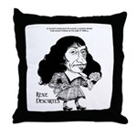 Descartes Throw Pillow