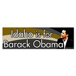 Idaho for Obama Ten Back Stickers