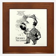 Nietzsche Framed Tile