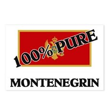 100 Percent MONTENEGRIN Postcards (Package of 8)