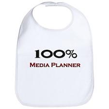 100 Percent Media Planner Bib