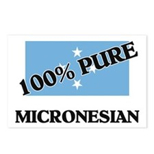 100 Percent MICRONESIAN Postcards (Package of 8)