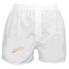 Mathlete (Flesh) Boxer Shorts