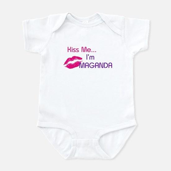 KISS ME I'M MAGANDA Infant Bodysuit