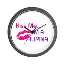 KISS FILIPINA Wall Clock