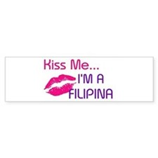 KISS FILIPINA Bumper Bumper Sticker