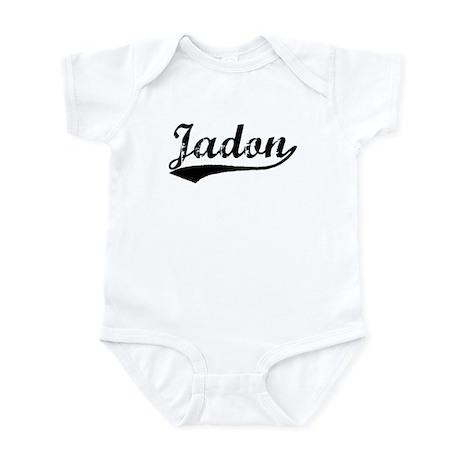 Vintage Jadon (Black) Infant Bodysuit