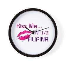1/2 FILIPINA Wall Clock