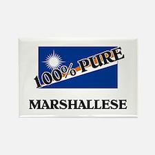 100 Percent MARSHALLESE Rectangle Magnet