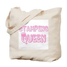 Stamping Queen Tote Bag