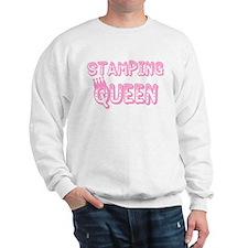 Stamping Queen Sweatshirt