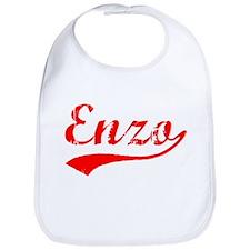 Vintage Enzo (Red) Bib