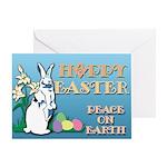 Masonic Bunny Greeting Card
