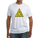Lambda Lambda Lambda Fitted T-Shirt