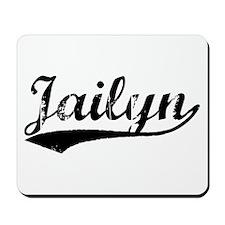 Vintage Jailyn (Black) Mousepad