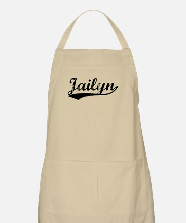 Vintage Jailyn (Black) BBQ Apron