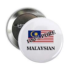 "100 Percent MALAYSIAN 2.25"" Button"