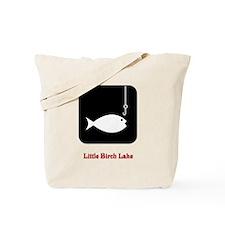 235 Fish Symbol Tote Bag