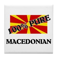 100 Percent MACEDONIAN Tile Coaster
