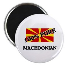 100 Percent MACEDONIAN Magnet