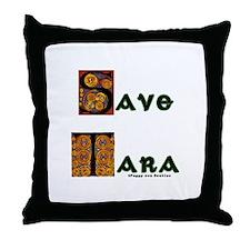 Save Tara Throw Pillow