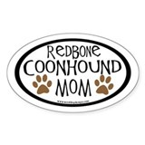 Redbone coonhound Stickers & Flair