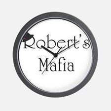 Robert's Mafia Wall Clock