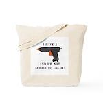 I Have A Glue Gun Tote Bag