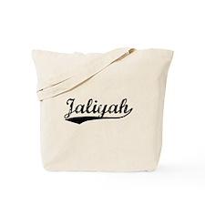 Vintage Jaliyah (Black) Tote Bag