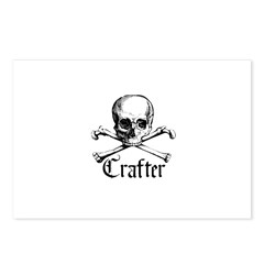 Crafter - Skull and Crossbone Postcards (Package o