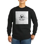 Crafter - Skull and Crossbone Long Sleeve Dark T-S