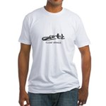 Clamp Spindle Fitted T-Shirt