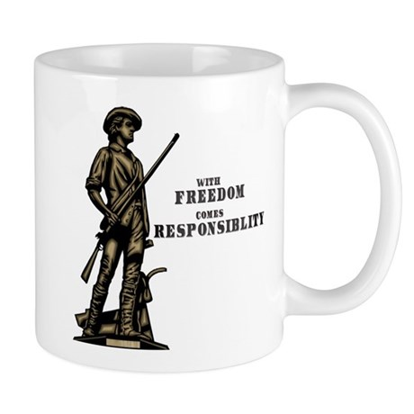 With Freedom Mug