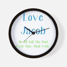 Love Jacob Wall Clock