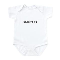 Client #9 : Elliot Spitzer Infant Bodysuit