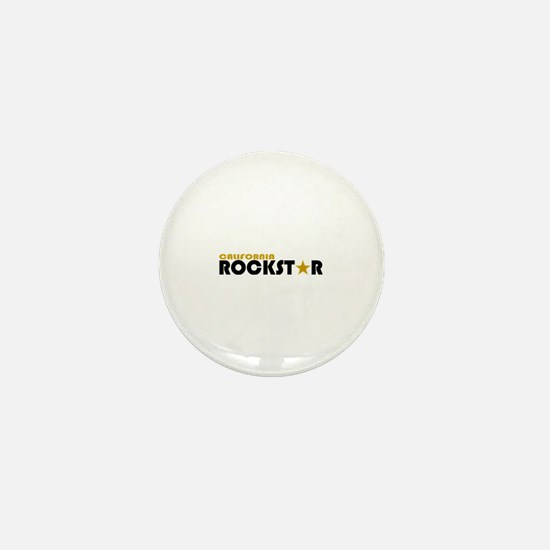 California Rockstar Mini Button