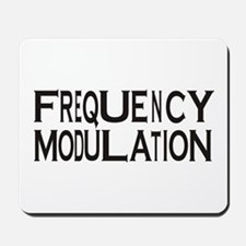 Frequency Mousepad