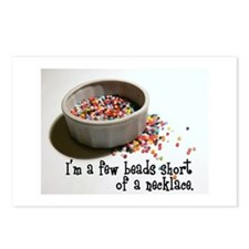I'm A Few Beads Short Postcards (Package of 8)