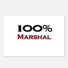 100 Percent Marshal Postcards (Package of 8)