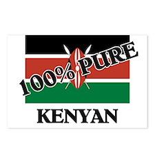 100 Percent KENYAN Postcards (Package of 8)