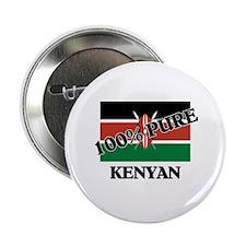 """100 Percent KENYAN 2.25"""" Button (10 pack)"""