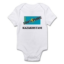 100 Percent KAZAKHSTANI Infant Bodysuit