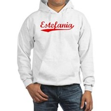 Vintage Estefania (Red) Hoodie Sweatshirt