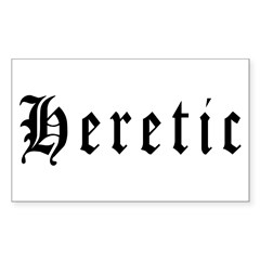 Heretic Rectangle Decal