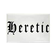 Heretic Rectangle Magnet (100 pack)